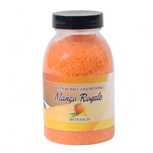 Mango Royale Non-Foaming Bath Salts - Bath Bubble & Beyond 240g